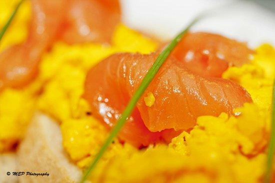 Caffe Del Gusto: Salmon Breakfast