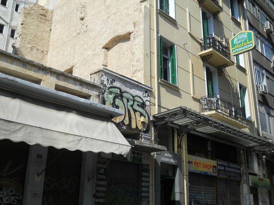 Hotel Athinaikon: hotel front