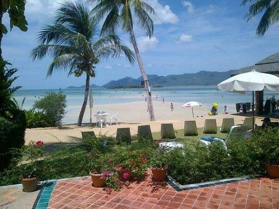 Chaba Cabana Beach Resort : view from room 20 window