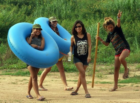 Chiang Mai Tubing and Beach Club: In style