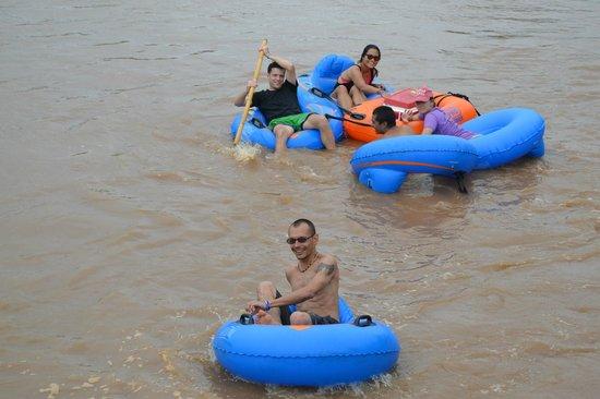 Chiang Mai Tubing and Beach Club: Ride em all ways
