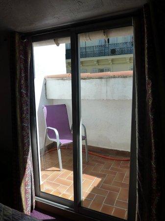 Hotel Saint Gothard: Balcony