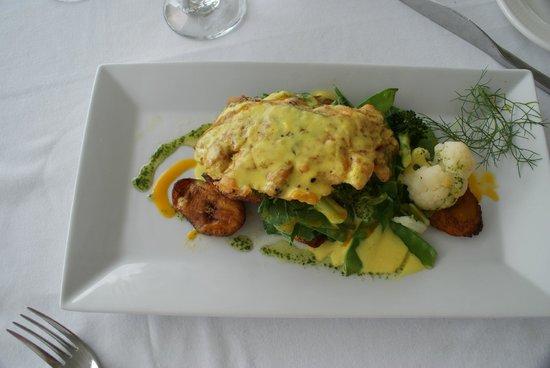 Calabash Cove Resort and Spa: Great food