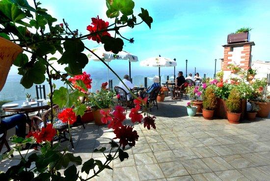 Artefes Hotel Istanbul: Terrace Garden