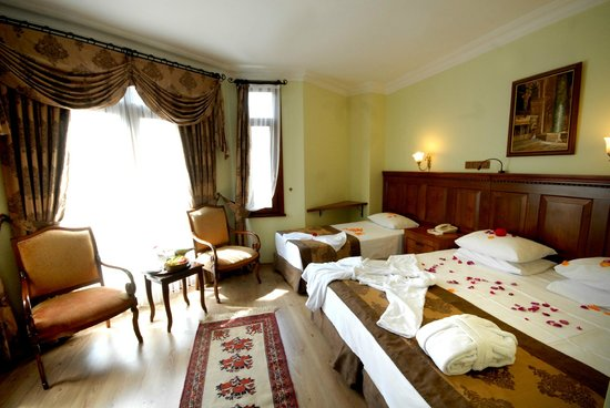 Artefes Hotel Istanbul: Family Room