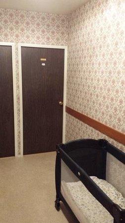 Hotel Saint-Hubert: couloir d'accès