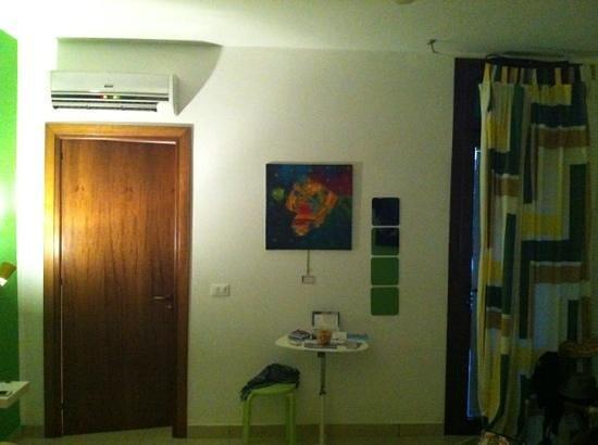 B&B Tre Pozzi : camera verde