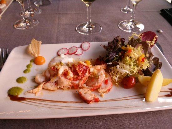 Restaurante Otzarreta: Ensalada de bogavante
