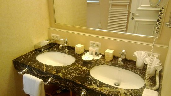 THERESA Wellness Geniesser Hotel: Bagno camera