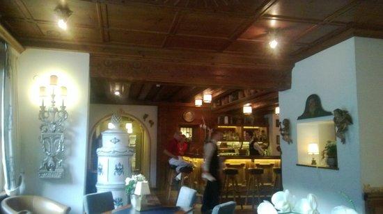 THERESA Wellness Geniesser Hotel : zona accesso ristorante