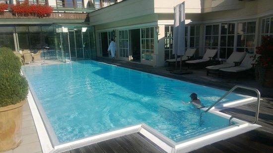 THERESA Wellness Geniesser Hotel: Piscina esterna