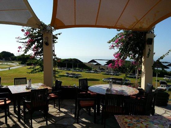 Aldiana Cyprus: Mittagessen an der Beachbar