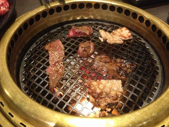Gyu Kaku Vancouver : in table grill