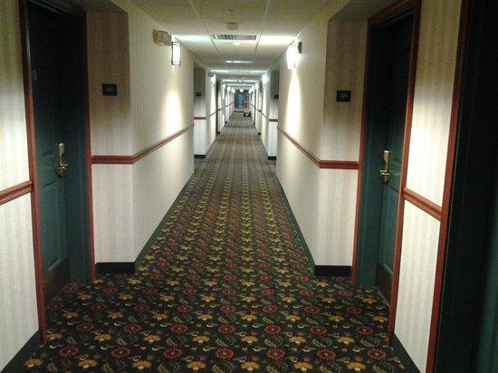 Baymont Inn & Suites Clinton: third floor hallway