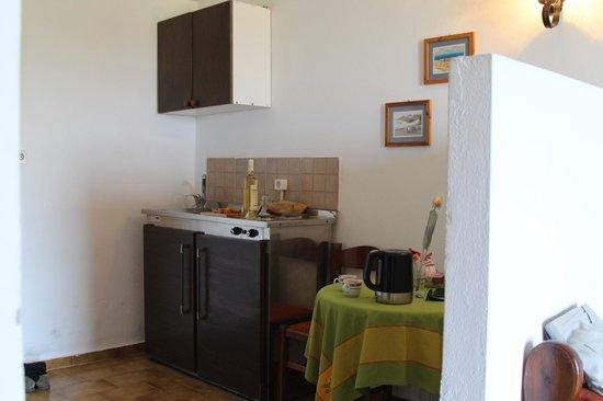 Bellevue Village : Мини кухня. Достаточно удобно.