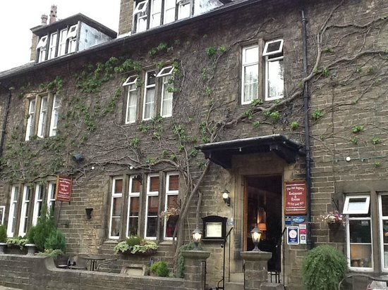 The Old Registry Haworth: the hotel frontage
