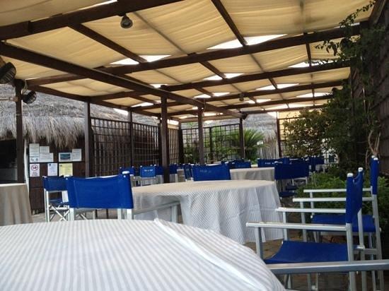 Santa Severa, Italia: bar-ristorante spiaggia!!