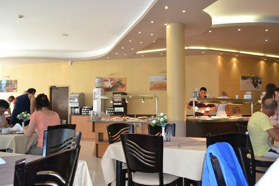 Hotel Royal: restaurant