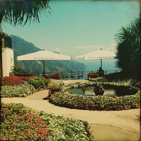 Ristorante Raffaele dell'Hotel Parsifal: courtyard view