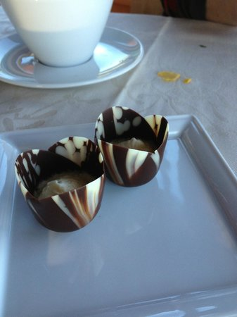 The Observatory at Grouse Mountain: complimentary dessert