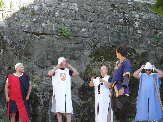 Montreal, Prancis: Participation du public avec les chevaliers