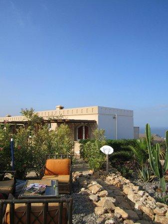 Aftas Trip: coin de charme du jardin