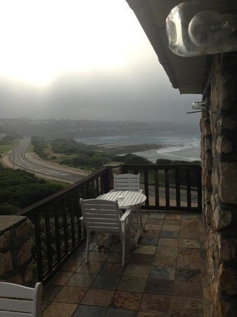 Agulhas Country Lodge: View from balcony