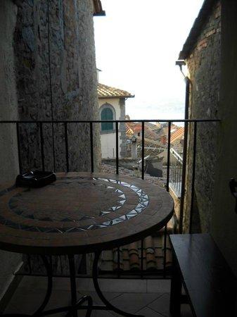 Hotel Sabrina: veduta dall'hotel sui tetti di Cortona