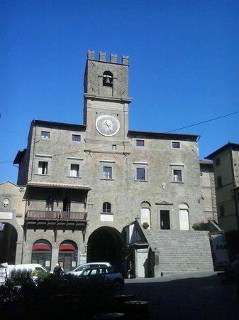 Hotel Sabrina: Piazza della Repubblica Cortona