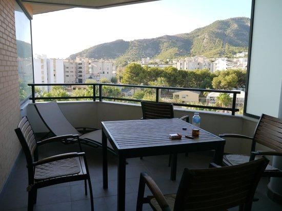 Boulevard Apartamentos Alfaz Playa Albir: terrace ベランダ