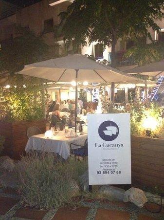 LA CUCANYA SITGES: La terraza