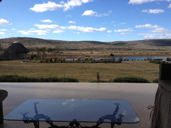 Ufumene Game Lodge : View from Verandah