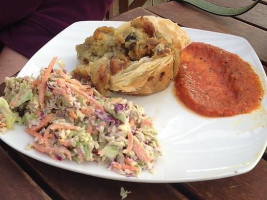 The Cider Shed : Smoked Fish Pie and Salad