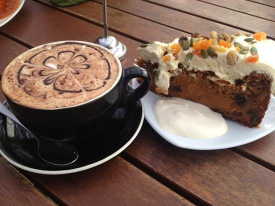 The Cider Shed : Mocha and Carrot Cake