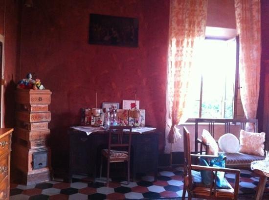 Villa Il Palazzino: camera degli sposi