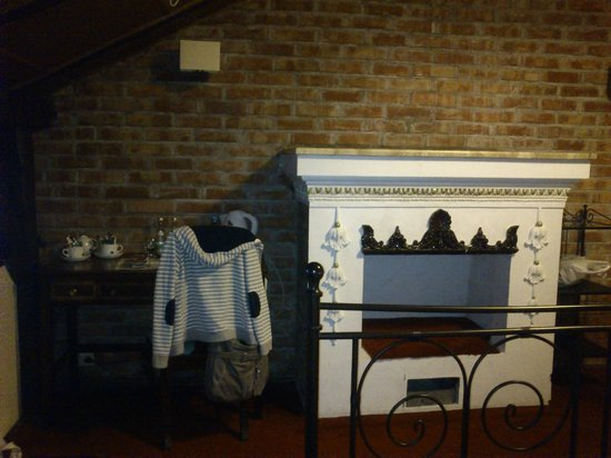 Atelier Aparthotel: chimenea