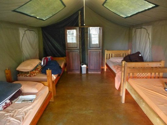 Lidwala Backpacker Lodge: Safari tent