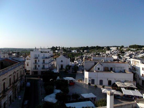 Lanzillotta Hotel: panorama dalla terrazza di camera