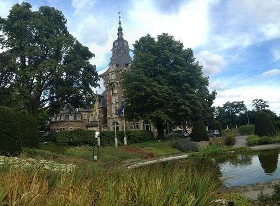 Chateau de Namur: Vooraanzicht van het hotel