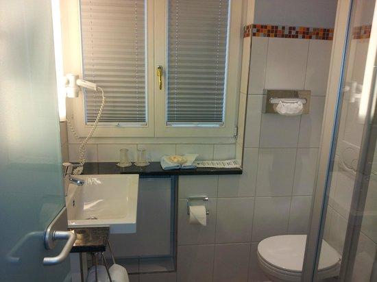 Hotel Münchner Hof: El baño estaba muy cuidado