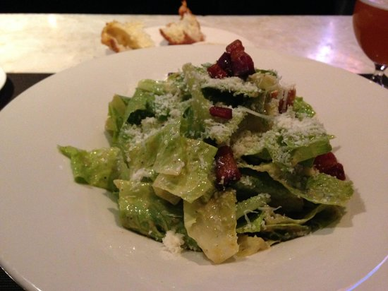 Jacobs & Co. Steakhouse: Caesar salad that was prepared table side