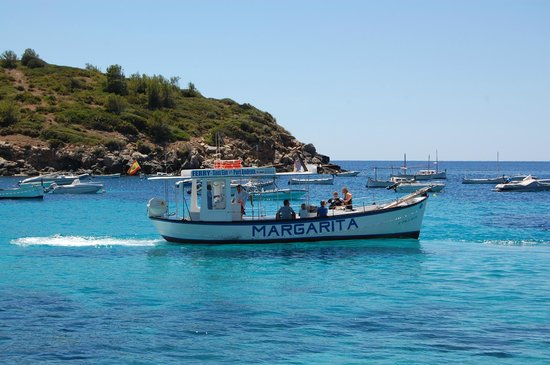 Universal Aparthotel Don Camilo: the ferry to Dragonera (12 euro pp round trip)