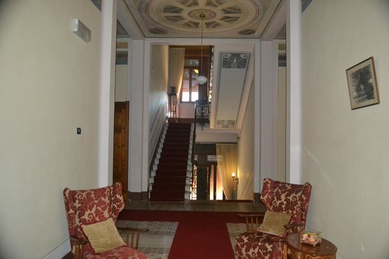Villa Moorings Hotel: This is a shot of the interior of the hotel.