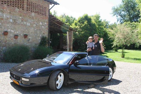 POGGIO SALVI Agriturismo: Our pleasure to take you for a ride!