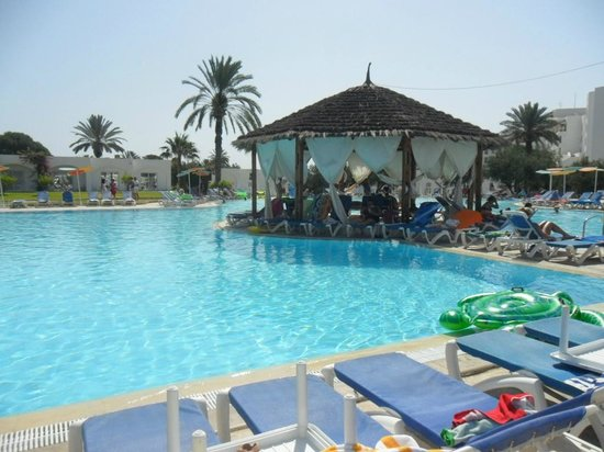 Thalassa Sousse Resort & Aquapark: piscine principale