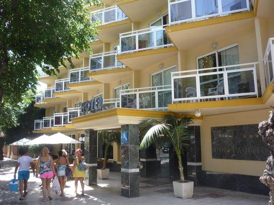 Hotel Don Paquito: L'hotel.
