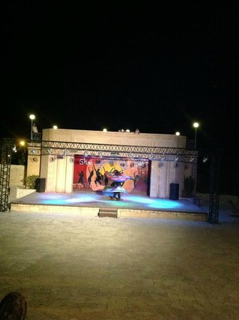 Dreams Beach Marsa Alam : Roman theater show: Tanoura show