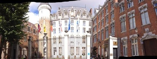 Hotel Dukes' Palace Bruges: Je voelt je als een prins te rijk!