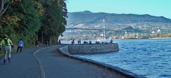 Vancouver Seawall: The Seawall