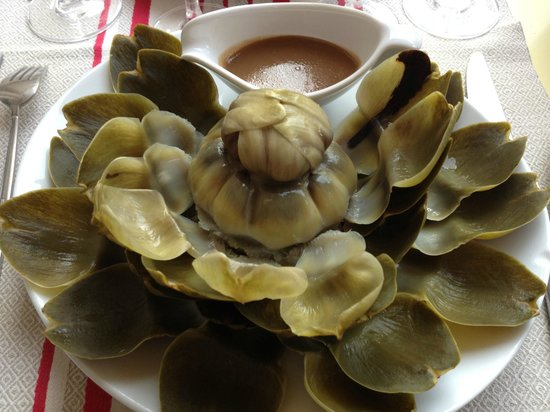 Restaurant Paul : Artichaut en feuilles